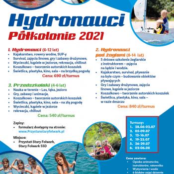 Półkolonie hydronauci